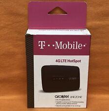 New T-Mobile Alcatel Linkzone MW41TM 4G LTE Hotspot WiFi Mobile