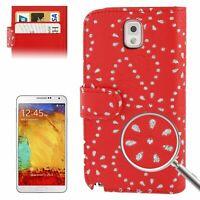 Étui de Portable Protection Case pour Téléphone Samsung Galaxy Note3 N9000 Rouge
