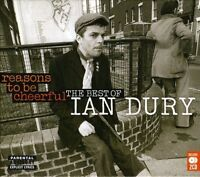 IAN DURY ~ REASONS TO BE CHEERFUL THE VERY BEST OF  GREATEST HITS NEW SEALED 2CD