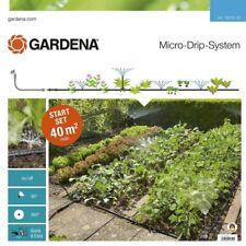 Gardena 13015-20 Micro-Drip-System Start-Set Pflanzflächen für 40 m² Beete