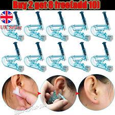 1 Disposable Ear Piercing Pierce Gun Stud Tool Earring Kit Piercer Studs Sterile