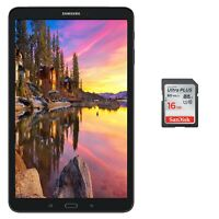 "NEW Samsung Galaxy Tab A 2016 10.1"" Octa Core 1.6GHz 16GB WiFi + 32GB microSD"