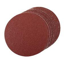 Silverline 918544 Self-Adhesive Sanding Discs 150mm 10pk 60 Grit