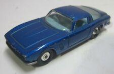 Vintage Lesney Matchbox Iso Grifo No. 14 Blue Car England Toy interior doors 2