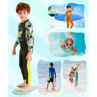Thermal Kids Wetsuit Full Body Diving Suit Children Youth One Piece Swimsuit