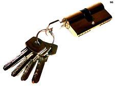 80mm Türschloss Sicherheit Schließzylinder Schloss + 5 Schlüssel