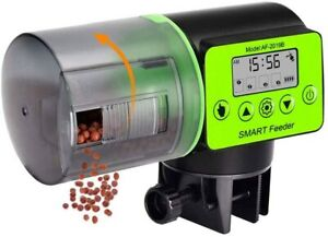 Automatic Fish Feeder, Auto Timer Fish Food Dispenser 200ml Capacity for Aquariu