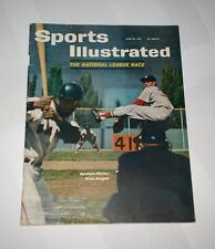 1961 NO LABEL Sports Illustrated WILLIE MAYS San Francisco Giants  !