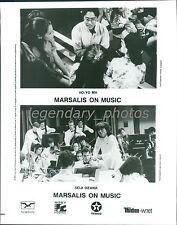 Marsalis on Music Original Music Press Photo