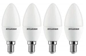 4 x Sylvania ToLEDo Candle E14 V3 5.5W Daylight LED 470lm [Energy Class A+]