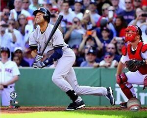 "Derek Jeter New York Yankees Final MLB Hit at Fenway Park Photo (8"" x 10"")"