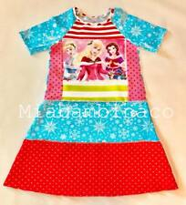 Custom Boutique Christmas Dress Disney Princess Holiday 12 14 Cinderella Belle