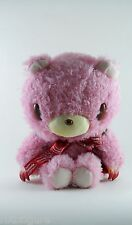 """Gloomy Pink Plush new 10"""" mori chack sitting soft stuffed animal bear"""