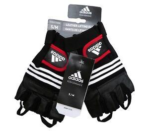 Adidas Trainingshandschuhe S/M Klimmzug Handschuhe Sporthandschuhe Hanteln Grips