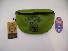 SCORPION BAY MARSUPIO PICCOLO AMB3103 WAIST BAG ACID GREEN VERDE IDEA REGALO