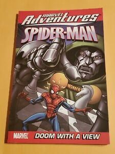 Rare Spider-Man Doom With A View Graphic Novel TPB Comic Digest Doctor Doom & FF