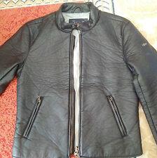 Armani Jeans Amazing Lederoptik Jacke 100% original! TOP NP419 En/De Info