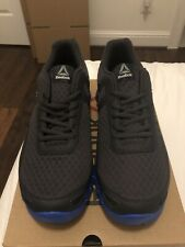 Reebok Men's Zig Evolution Running Shoes Lead Awesome Blue BS6667 New Size 8.5