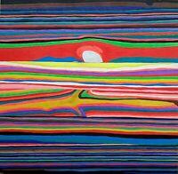 Silvano Annibali - tecnica mista su legno, opera originale del 2016