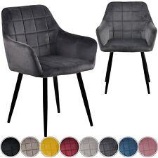 Esszimmerstühle Samt Esszimmerstuhl Wohnzimmer Stuhl Set Küchenstuhl Velour