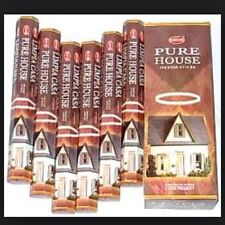 Pure House Incense 20 Sticks- Limpia Casa Incensio-Santeria/Espiritismo/ Wicca