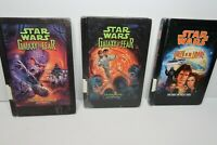 Star Wars Lot of 3 HC Books Queen of the Empire, Eaten Alive, &  Army of Terror