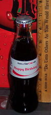 2016 DIET COKE SHARE A COKE WITH HAPPY BIRTHDAY !!  8 OUNCE DIET COKE BOTTLE