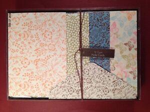 Gartner Formal Note Cards - 12 Cards & Envelopes - New!