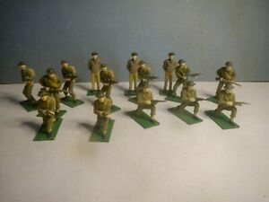 Blue Box Elite Command WW2 British Infantry 15 figure set