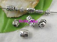 400 pcs Mixed style Tibetan silver spacer beads M3645