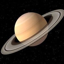 Saturn - 8x8 3D Lenticular Postcard Greeting Card - Space