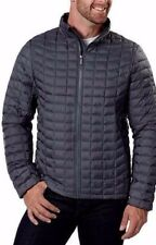 Men's L Large Designer Quilted Jacket NEW Gray BEN SHERMAN Winter is Coming Grey
