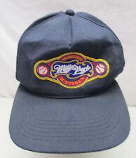 Vtg Milwaukee Wisconsin Miller Park Embroidered Patch Baseball Cap Snapback Hat