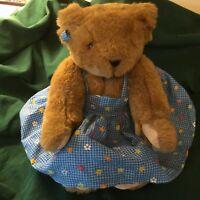 Vintage Teddy Bear (girl)  Vermont Teddy Bear Company (jointed body)