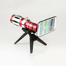 20X Optical Zoom Lens Camera Telescope Hard Case Cover For Samsung Galaxy S4 SIV