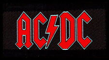 "AC/DC AUFNÄHER / PATCH ""LOGO"""