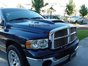 2002-2008 Hood Scoop for Dodge Ram Rumble Bee Scoop MrHoodScoop UNPAINTED HS006