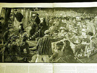 Staniland Henley England NIGHT CARNIVAL and REGATTA 1891 w Story Lg Folio Print