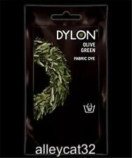 Dylon Permanent Fabric Dye OLIVE GREEN 1.75oz