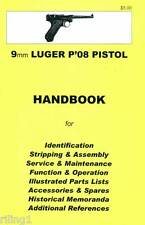 LUGER P'08 PISTOL, 9mm  Assembly, Disassembly Manual