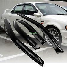Window Visor Vent Sun Shade Rain Guard Fits For Honda Accord 98-02 4 Door Sedan