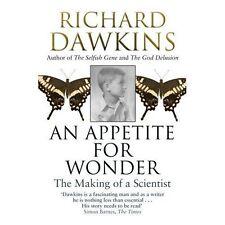 DAWKINS,RICHARD-APPETITE FOR WONDER: THE MAKING O  BOOK NEW