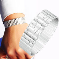 New Mens Womens 925 Sterling Silver Lotus Open Cuff Bangle Bracelet Jewerly Gift