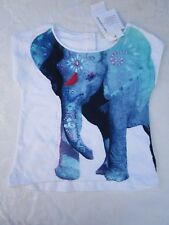 Girls Size 2 Pumpkin Patch baby elephant print top