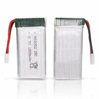 3.7V 1800mah Lipo Battery 25C XH2.54 Plug with USB Charger for RC Quadcopter US