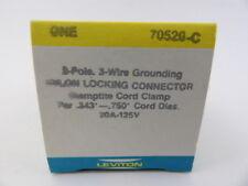 Leviton 70520-C L5-20C 20 Amp 125V 3 Pole 3 Wire Twist Lock Female Cord Body