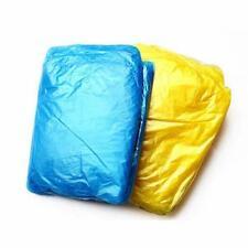 2pcs Disposable Plastic Raincoat Travel Tourist Camping Hiking Rain Coat for All