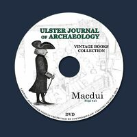 Ulster Journal of Archaeology – Vintage Journals 15 Volumes PDF on 1 DVD History