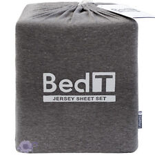 Bambury BedT Graphite Jersey Knit Sheet Set | Comfortable as your T-Shirt | King