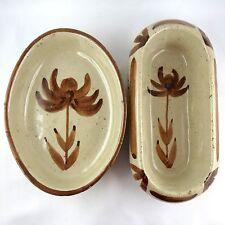 DUO Vide-Poche Robert PICAULT Céramique VALLAURIS ceramic 50 grès/derval/thiry